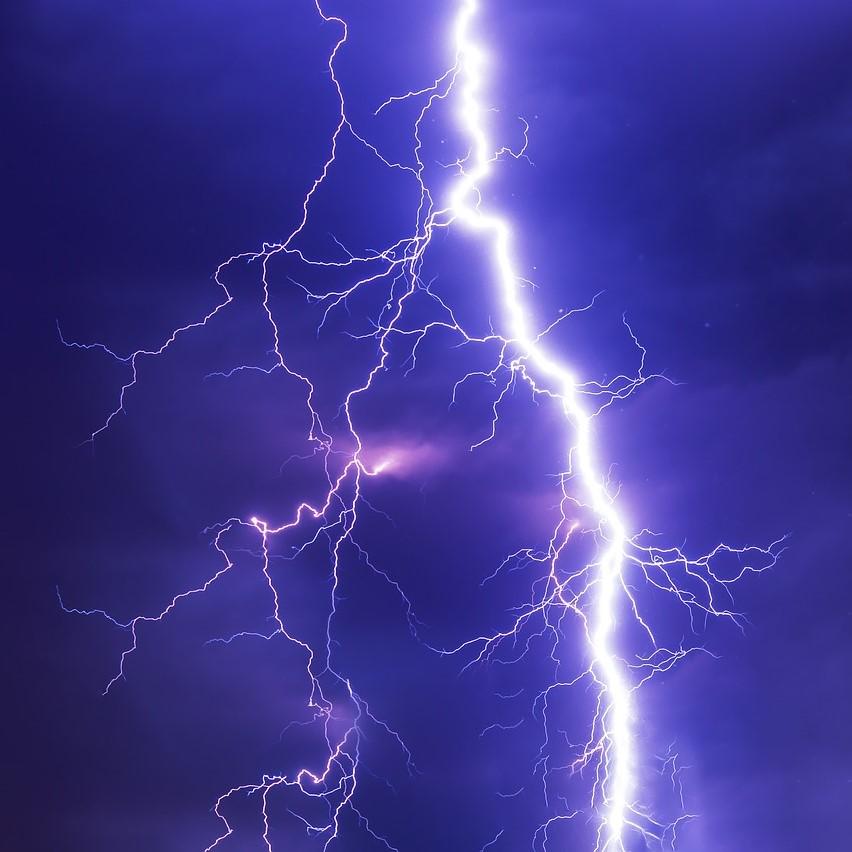 Act of god, bolt of lightning