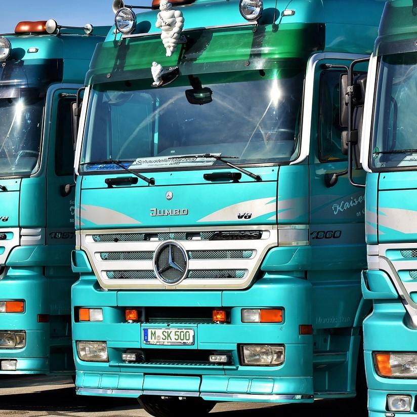 Supply, trucker, truck