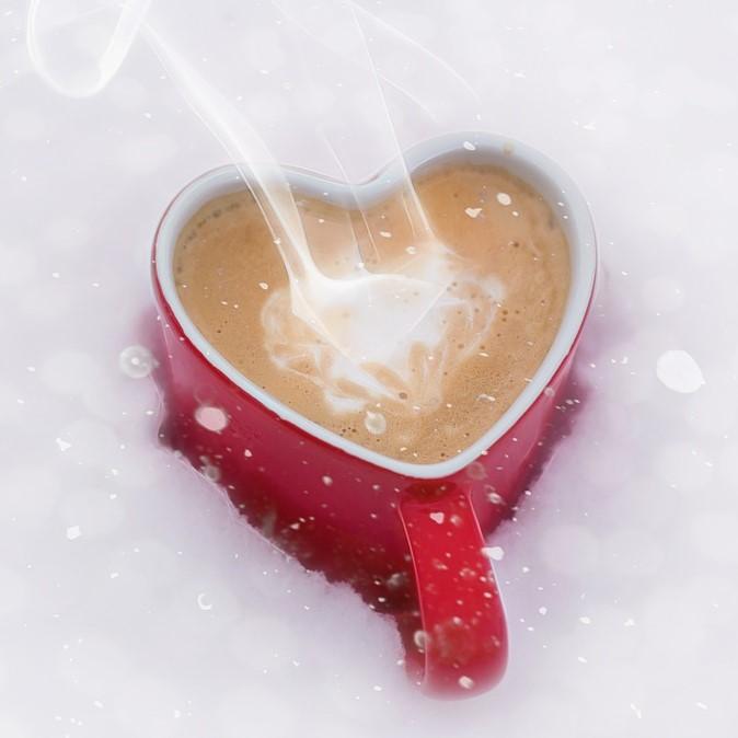 Hot chocolate, coffee, tea