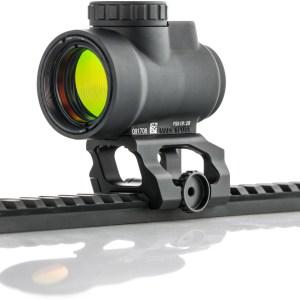 Montage rödpunktsikte gevär