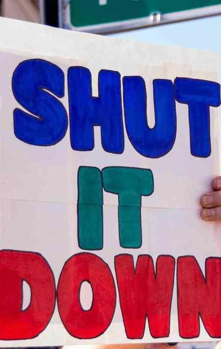 shut it down, blog threat