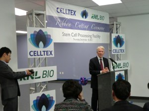 Celltex and RNL Bio in happier times