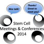 Stem cell meetings & conferences for 2014