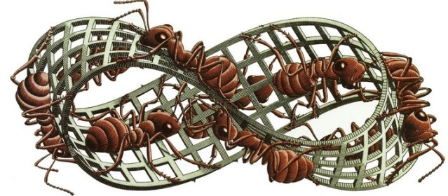 The whole grants game can feel like the Escher Mobius Strip