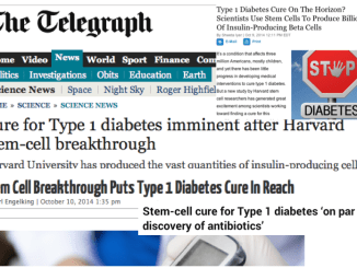 Stem Cell Diabetes Hype