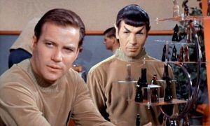 Kirk and Spock discussing genetic modification?