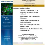 UC Davis 2nd Annual Stem Cell Ethics Symposium: Save the Date Feb. 12