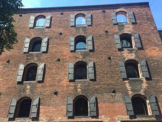 Brooklyn factory shutters