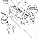 Stem cell magic bus cartoon