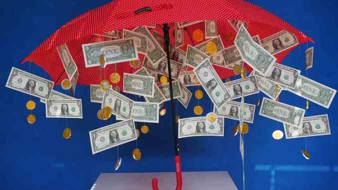 stem cell raining money