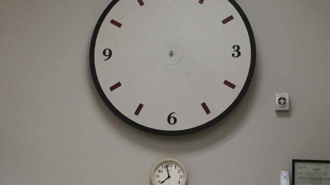 Clocks with no arms