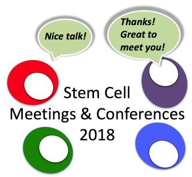 Stem cell meetings 2018