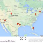 Animated map video shows wildfire spread of US stem cell clinics lacking FDA approval
