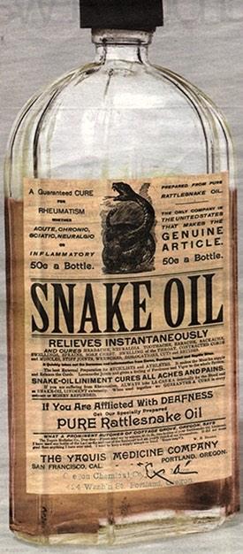 snake oil stem cells