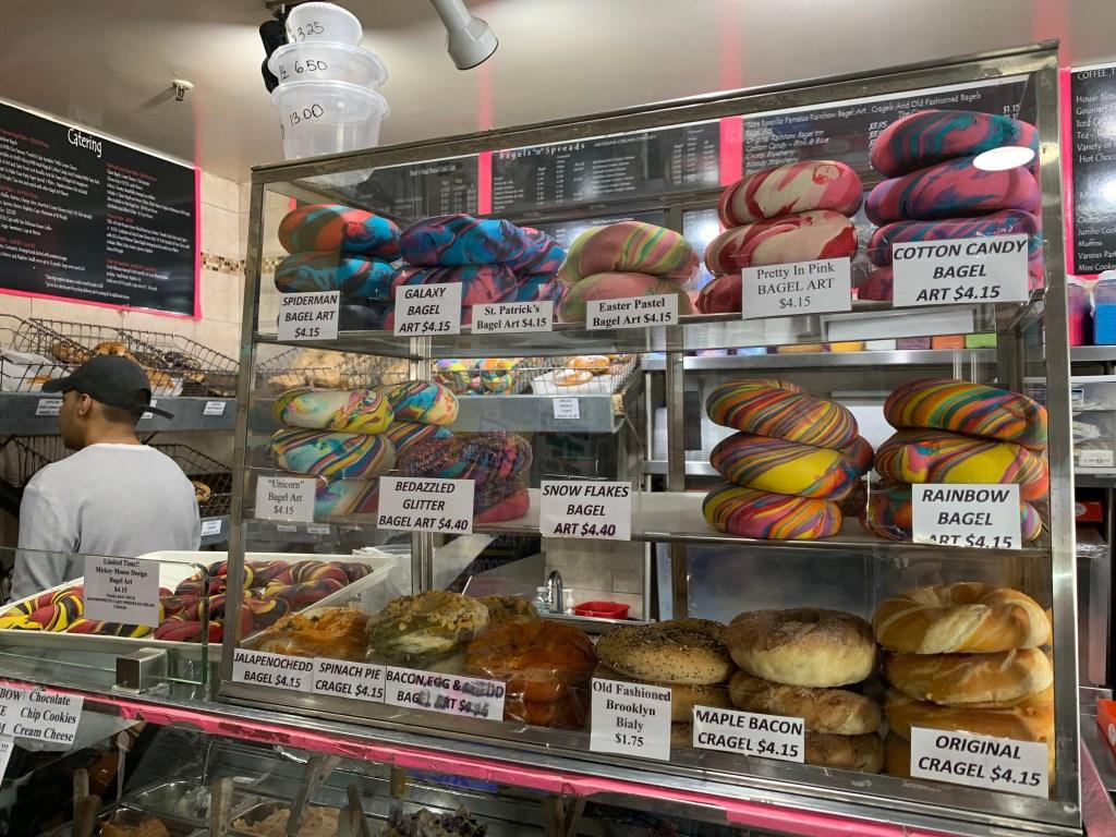 The-Bagel-Store-Original-Rainbow-Bagel-in-Brooklyn