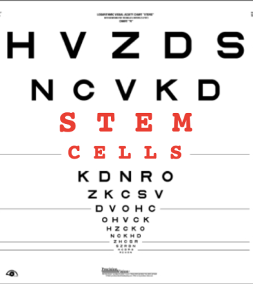 stem cell eye chart 2020