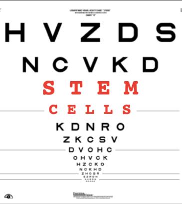stem cell eye chart 2020
