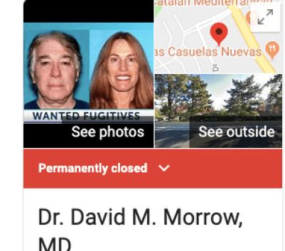 Dr. David Morrow Linda Morrow