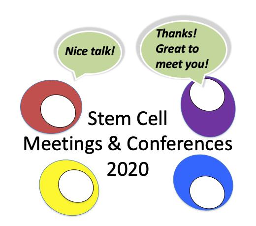 2020 stem cell meetings