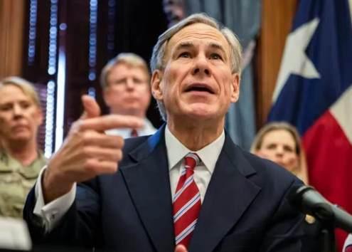 Greg Abbott Texas stem cells COVID abortion
