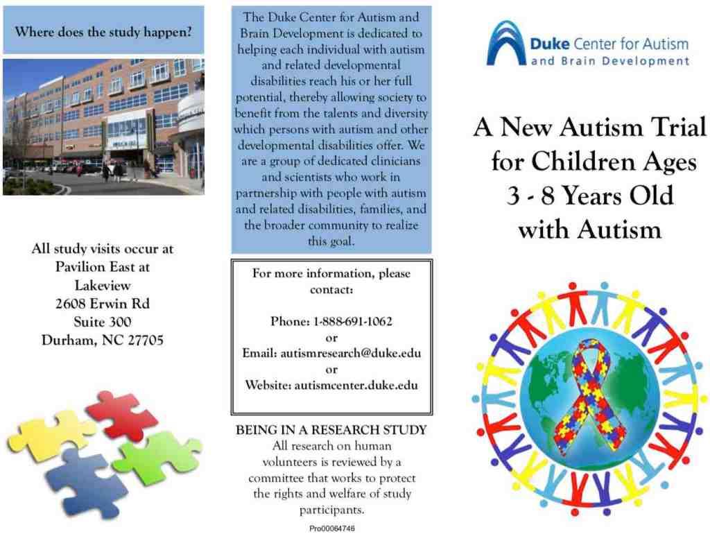 Duke-Curemark-autism-study-pamphlet