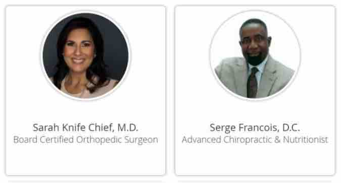 Sarah-Knife-Chief-M.D.-chiropractor-Serge-Francois-D.C.-From-KNWA-small