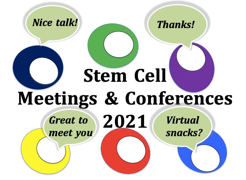 stem cell meetings 2021