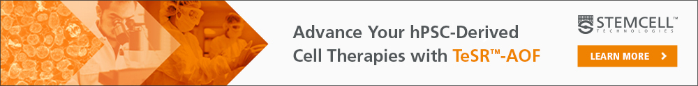 Advance of hPSC-Derived Cell Therapies with TeSR™-AOF