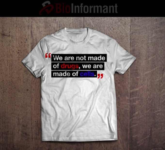 Bioinformant stem cell t-shirt