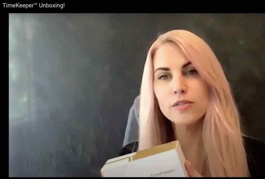 BioViva CEO Liz Parrish in YouTube video.