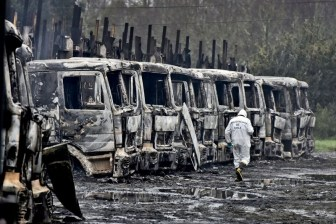Chile - Twenty-Nine trucks