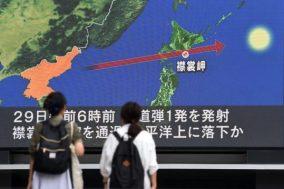 Japan - North Korea fires
