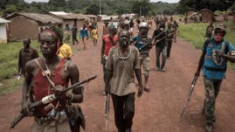 CAR rival militias