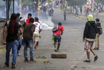 NICARAGUA Thousands protest government over social security reforms