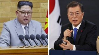 SOUTH KOREA President Moon to meet Kim Jong-un on Friday
