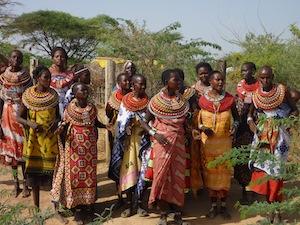 No man, except for those raised here as children, lives in Umoja village in Kenya.  / Credit:Hannah Rubenstein/IPS