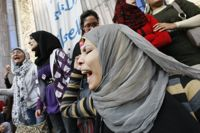 In the forefront at Tahrir Square a year back, women continue to struggle for rights. / Credit:Mohammed Omer/IPS.