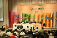 Delegates in Nagoya reached an agreement despite the usual North-South divide. / Credit:Courtesy of COP10 Japan 2010
