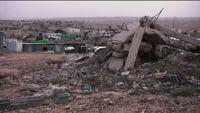 Destruction at Umm al-Hieran. / Credit:Jillian Kestler-D'Amours