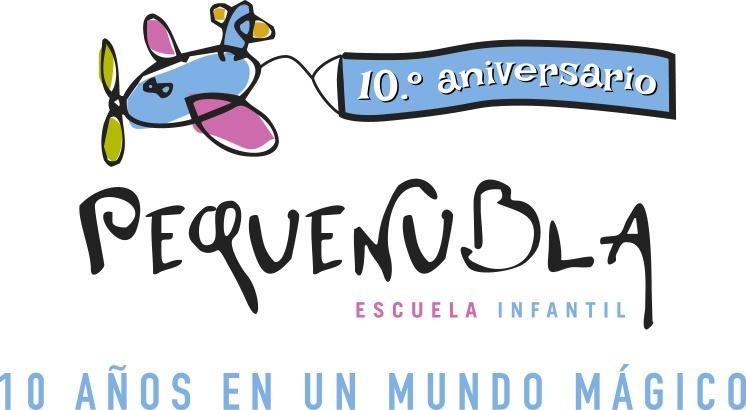 Logo Pequeñubla Décimo Aniversario