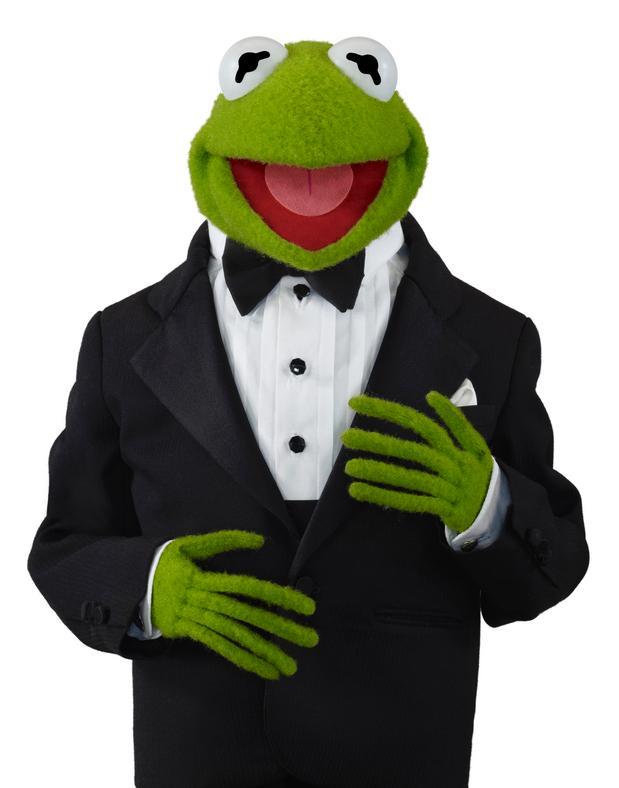 Kermit in a Tux