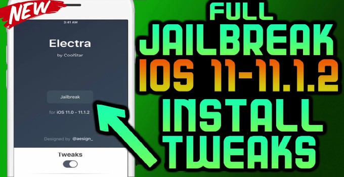 Download Electra Jailbreak iPA for iOS 11-11 1 2~Step By