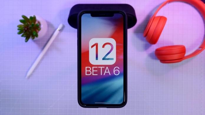 ios 12 beta 6 ipsw
