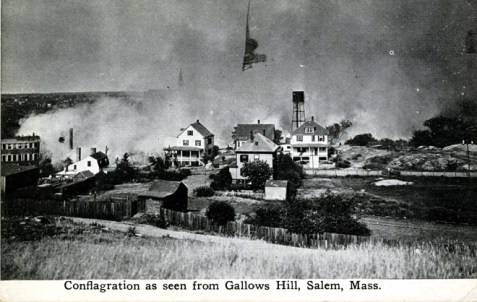 Postcard of the conflagration