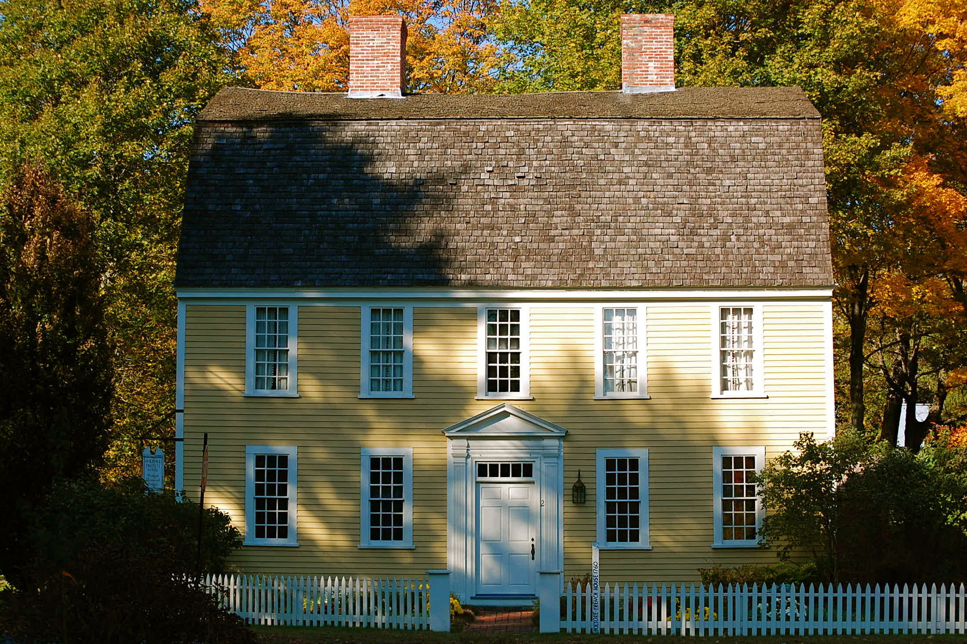Colonial houses of Boxford