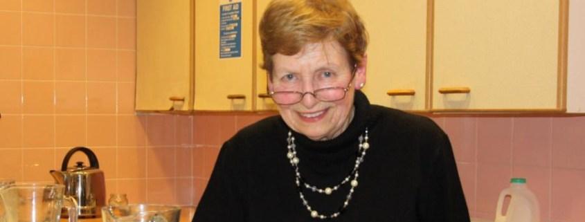June Catling, ICS fund raiser
