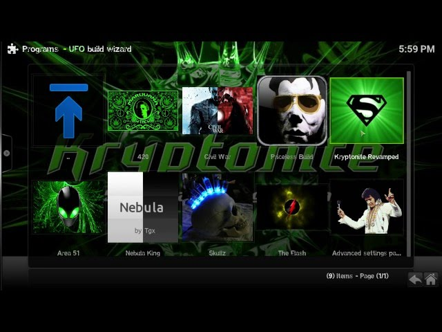 New UFO Kryptonite Revamped Addon lands on Kodi