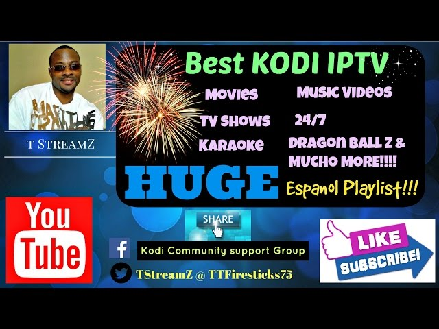 Best Kodi IPTV addon with LOTS of Spanish Content