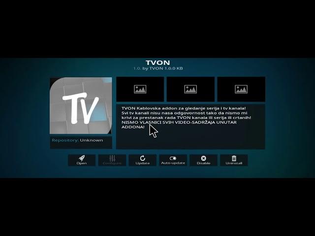 Kako instalirati TVON addon za platformu KODI?