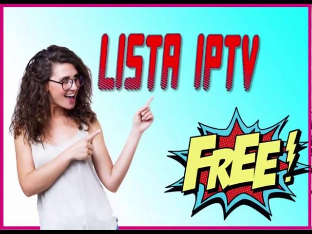 LISTA IPTV  FOR LIVE TV   IPTV LINK UPDATE